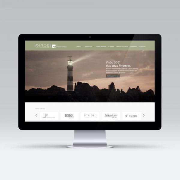 Site Faros Investimentos